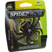 SpiderWire Stealth Glow-Vis Braided Fishing Line