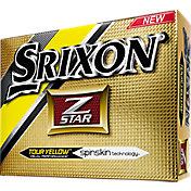 Srixon Z-STAR Yellow Golf Balls – Prior Generation