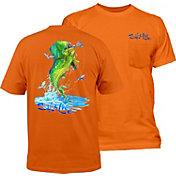 Salt Life Men's Mahi Explosion Pocket T-Shirt