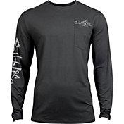 Salt Life Men's Captain SLX UVapor Performance Long Sleeve Shirt