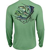 Salt Life Men's Fishermen's Dream SLX UVapor Long Sleeve Shirt