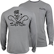 Salt Life Men's Get Hooked SLX Uvapor Long Sleeve Shirt