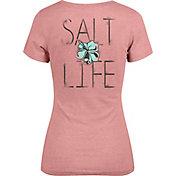 Salt Life Women's Tropic Life V-Neck T-Shirt