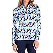 Tail Women's White Label Quarter-Zip Golf Pullover