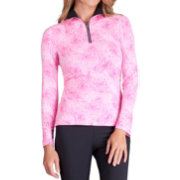 Tail Women's White Label Quarter-Zip Golf Pullover