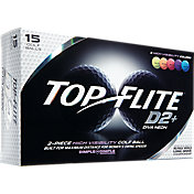 Top Flite Women's D2+ Diva Neon Golf Balls – 15-Pack – Prior Generation