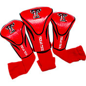 Team Golf Texas Tech Red Raiders Contour Headcovers - 3-Pack