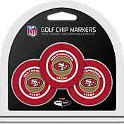 Team Golf San Francisco 49ers Poker Chips Ball Markers - 3-Pack