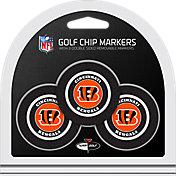 Team Golf Cincinnati Bengals Poker Chips Ball Markers - 3-Pack