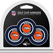 Team Golf Denver Broncos Poker Chips Ball Markers - 3-Pack