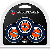 Team Golf Denver Broncos Poker Chips Ball Markers - 3-Pack