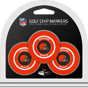 Team Golf Cleveland Browns Poker Chips Ball Markers - 3-Pack