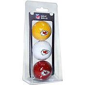Team Golf Kansas City Chiefs Golf Balls – 3 Pack