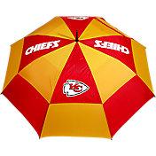 "Team Golf Kansas City Chiefs 62"" Double Canopy Golf Umbrella"