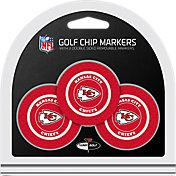 Team Golf Kansas City Chiefs Poker Chips Ball Markers - 3-Pack