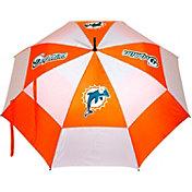 "Team Golf Miami Dolphins 62"" Double Canopy Umbrella"
