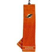 Team Golf Miami Dolphins Embroidered Golf Towel