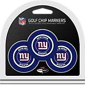 Team Golf New York Giants Poker Chips Ball Markers - 3-Pack
