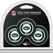 Team Golf New York Jets Poker Chips Ball Markers - 3-Pack