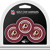 Team Golf Washington Redskins Poker Chips Ball Markers - 3-Pack