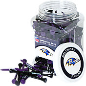 Team Golf Baltimore Ravens 175 Count Golf Tee Jar