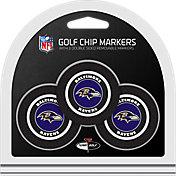 Team Golf Baltimore Ravens Poker Chips Ball Markers - 3-Pack