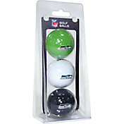 Team Golf Seattle Seahawks Golf Balls – 3 Pack