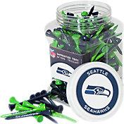 Team Golf Seattle Seahawks 175 Count Golf Tee Jar