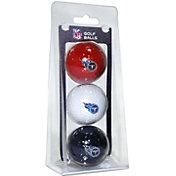 Team Golf Tennessee Titans Golf Balls – 3 Pack