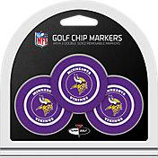 Team Golf Minnesota Vikings Poker Chips Ball Markers - 3-Pack