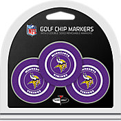 Team Golf Minnesota Vikings Poker Chips Ball Markers - 3-Pack