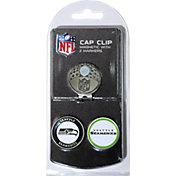 Team Golf Seattle Seahawks Two-Marker Cap Clip
