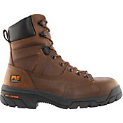 Timberland PRO Men's 8'' Helix Waterproof Composite Toe Work Boots