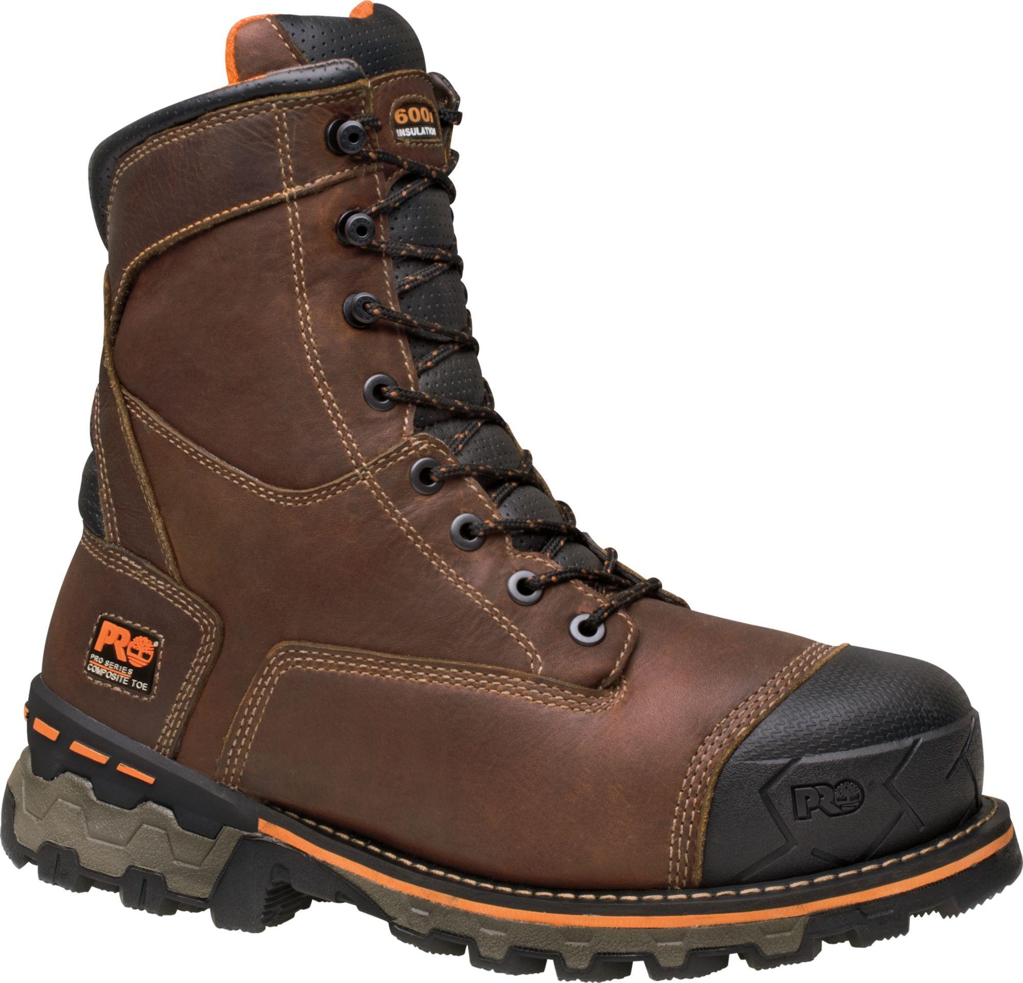 Timberland PRO Men's 8'' Boondock Waterproof 600g Composite Toe Work Boots  | DICK'S Sporting Goods