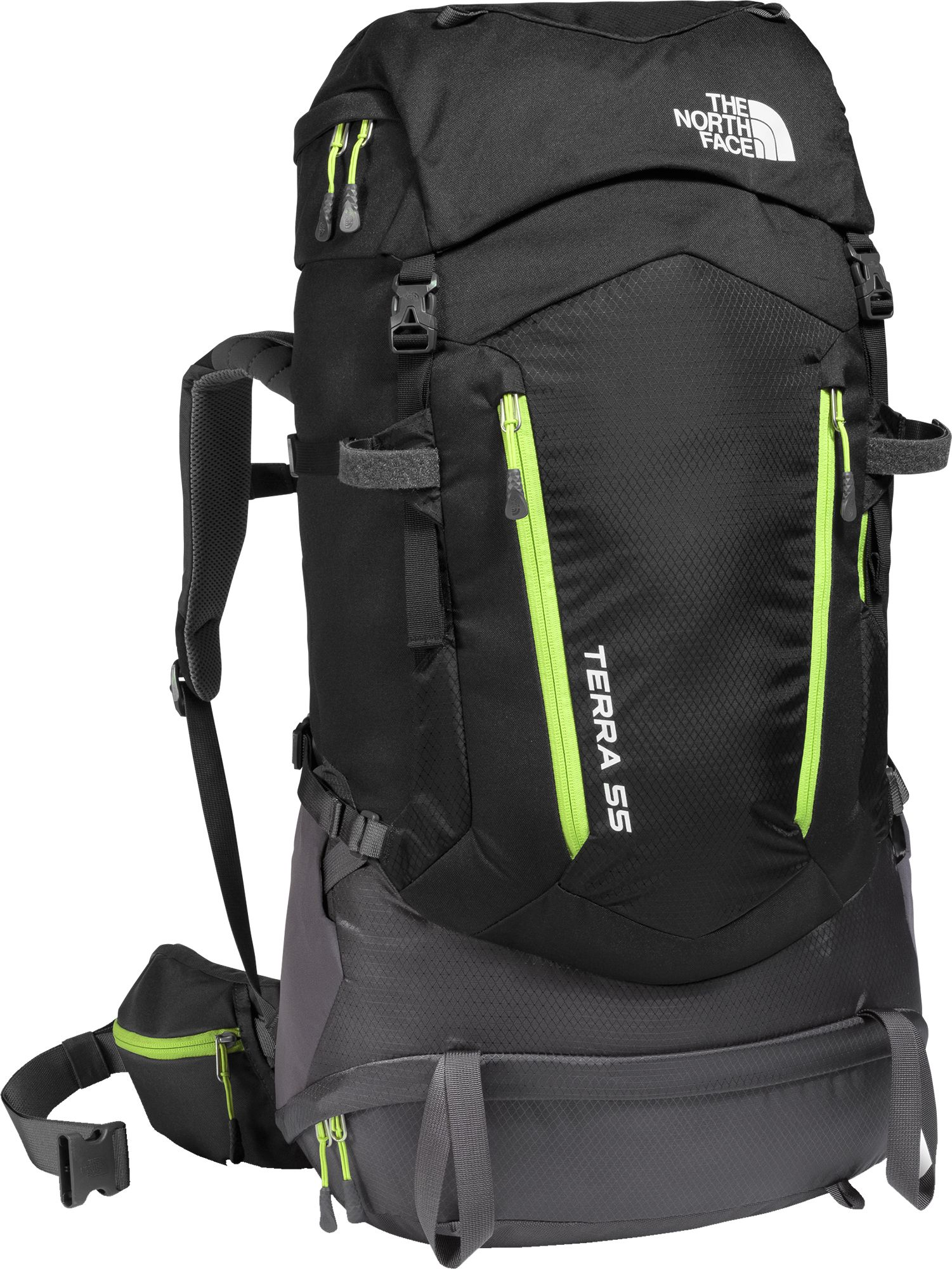 The North Face Youth Terra 55L Internal Frame Pack - Past Season ...