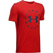 Under Armour Boys' Freedom Logo T-Shirt