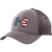 Under Armour Men's Big Flag Logo Mesh Back Hat