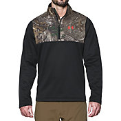 Under Armour Men's Caliber Quarter Zip Fleece Pullover