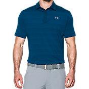 Under Armour Men's coldblack Chip In Stripe Golf Polo