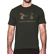 Under Armour Men's Camo Fill Logo Graphic T-Shirt