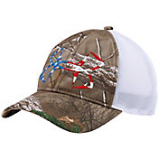 Under Armour Fish Hook Camo Trucker Cap