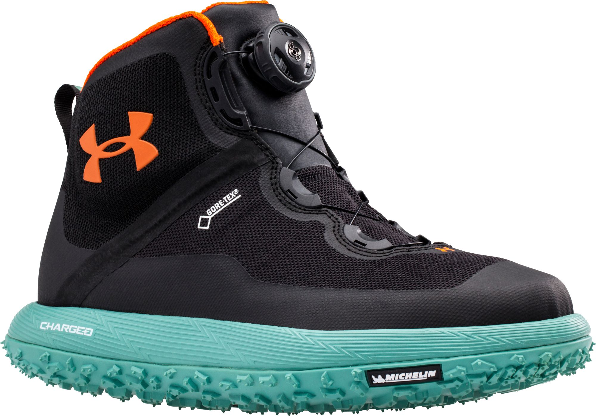 under armour fat tire boots. under armour men\u0027s fat tire gore-tex hiking boots 0