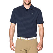 Under Armour Men's Playoff Heather Stripe Golf Polo