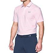 Under Armour Men's Playoff Heather Stripe Golf Polo