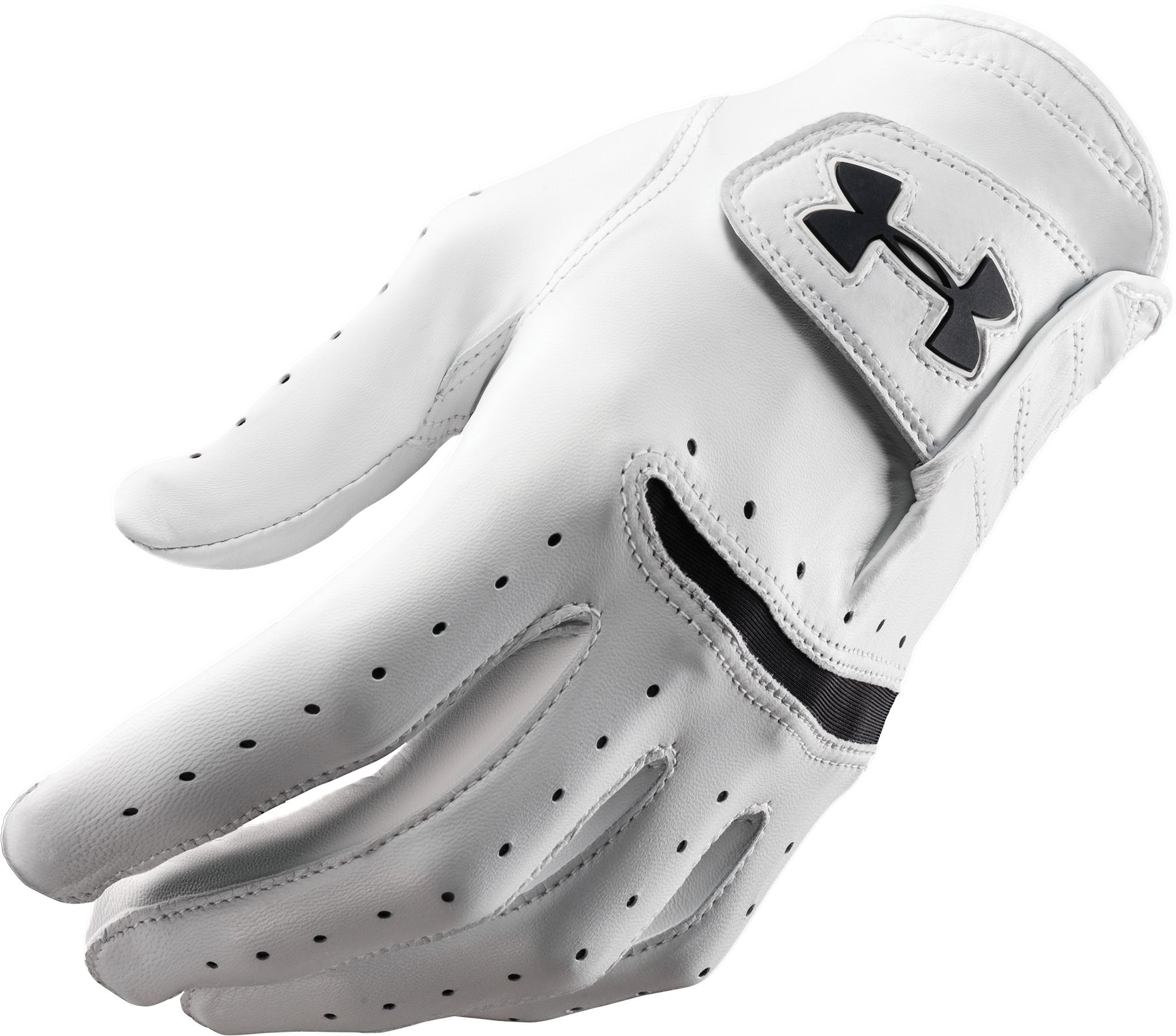 Black leather golf gloves - Product Image Under Armour Strikeskin Tour Golf Glove