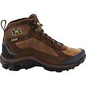 Under Armour Men's Wall Hanger Leather Mid GORE-TEX Work Boots