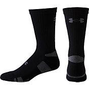 Under Armour HeatGear Athletic Crew Socks 4 Pack