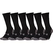 Under Armour Resistor Crew Socks 6 Pack