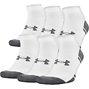 Under Armour Resistor Low Cut Athletic Socks 6 Pack