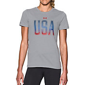 Under Armour Women's Two-Tone USA T-Shirt